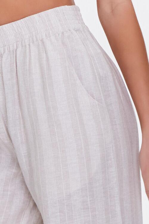 Striped Linen-Blend Pants, image 5