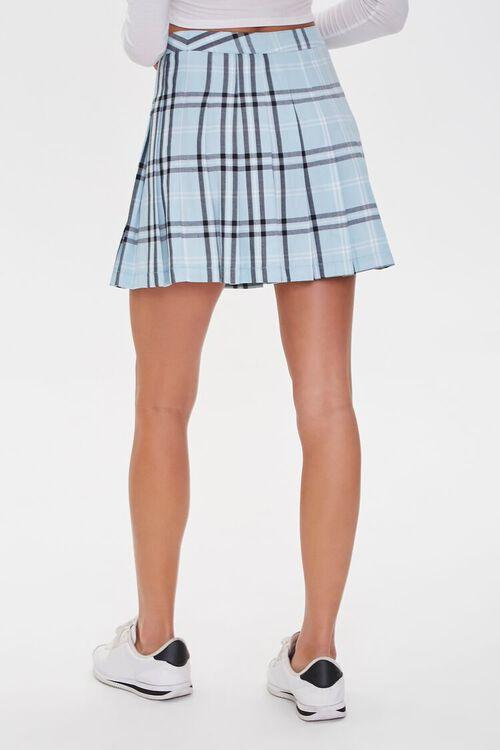 Pleated Plaid Mini Skirt, image 4