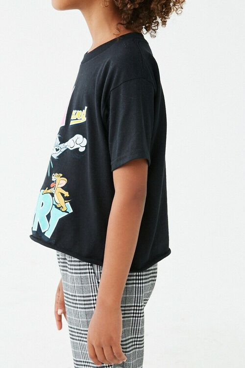 Girls Tom and Jerry Graphic Tee (Kids), image 2