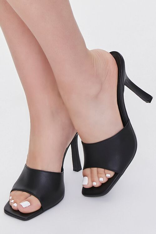 Faux Leather Stiletto High Heel, image 5