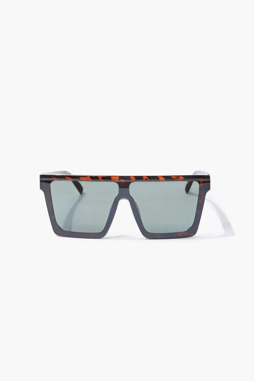 Tortoiseshell Shield Sunglasses, image 3