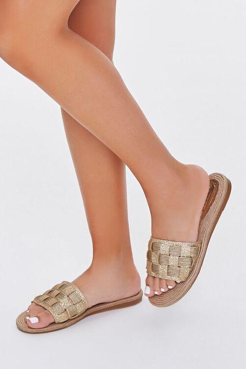 Espadrille Basketwoven Sandals, image 1