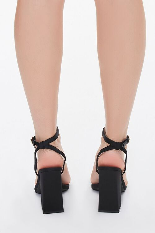 Quilted Single-Strap Block Heels, image 3