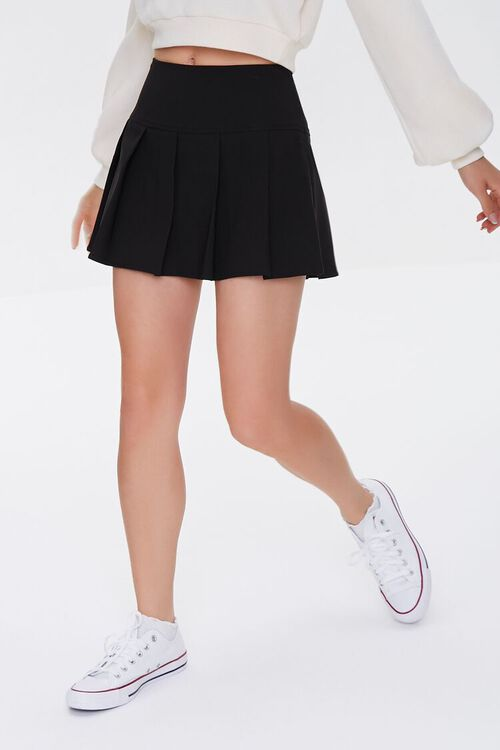 Pleated A-Line Skirt, image 2