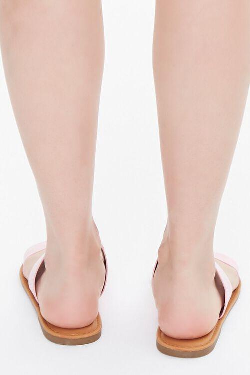 Faux Suede Dual-Strap Sandals, image 3