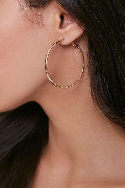 Medium Hoop Earrings, image 1