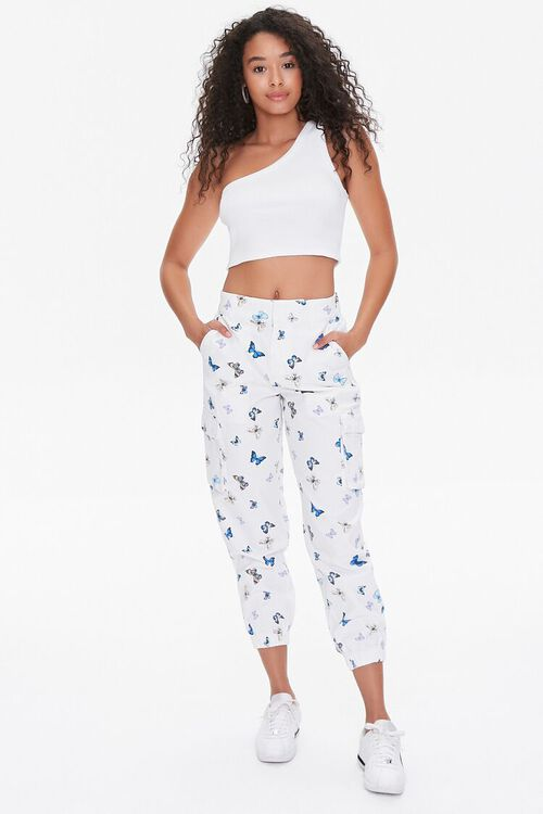 Butterfly Print Joggers, image 5