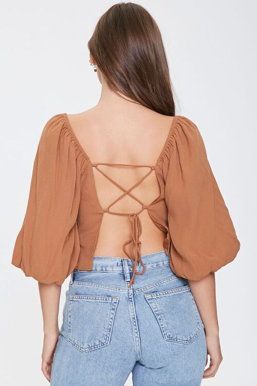 Lace-Back Peasant Top, image 3