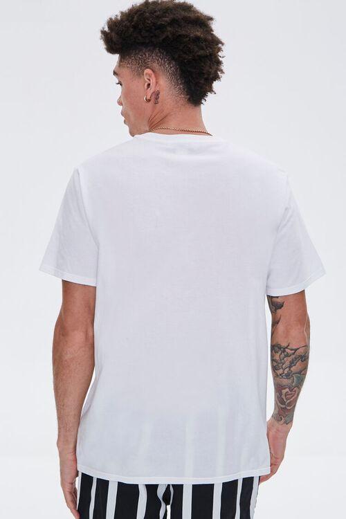 WHITE/MULTI Organically Grown Cotton Graphic Tee, image 3