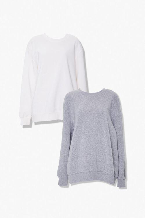 Plus Size Crew Sweatshirt Set, image 3