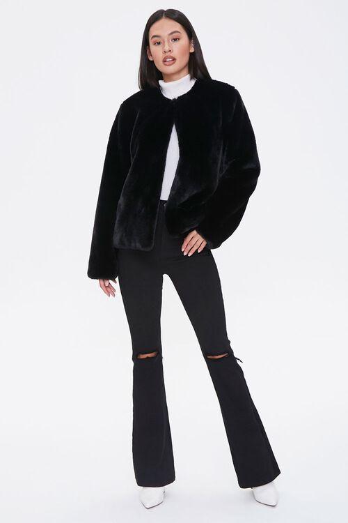 Plush Round-Neck Jacket, image 4