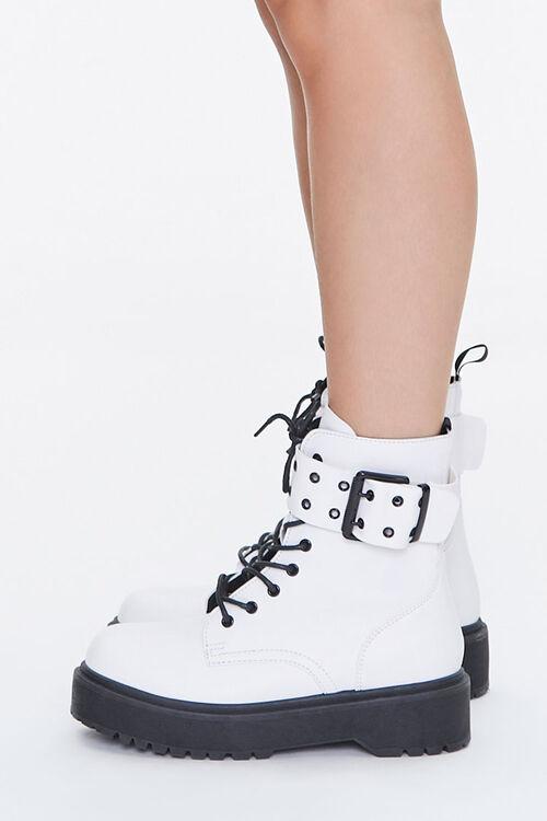 Buckled Platform Boots, image 2