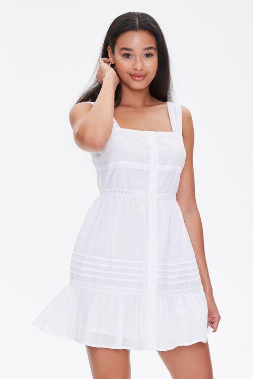 Fit & Flare Mini Dress, image 1