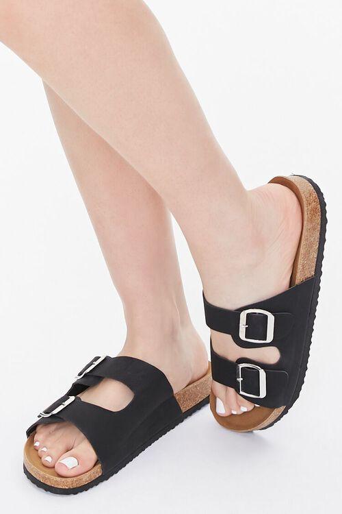Dual-Strap Slip-On Sandals, image 1
