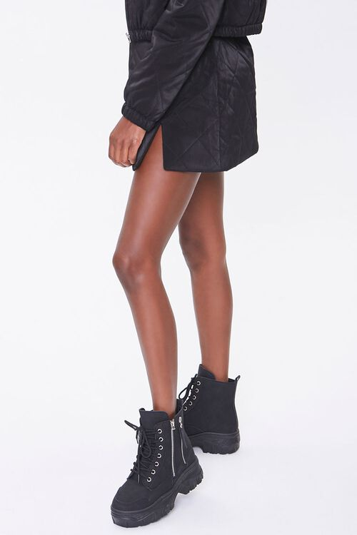 Quilted Mini Skirt, image 3