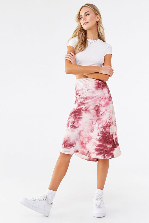 Tie-Dye Midi Skirt, image 4