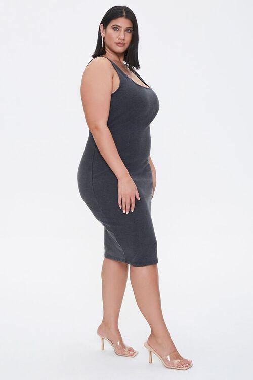Plus Size Bodycon Tank Dress, image 2