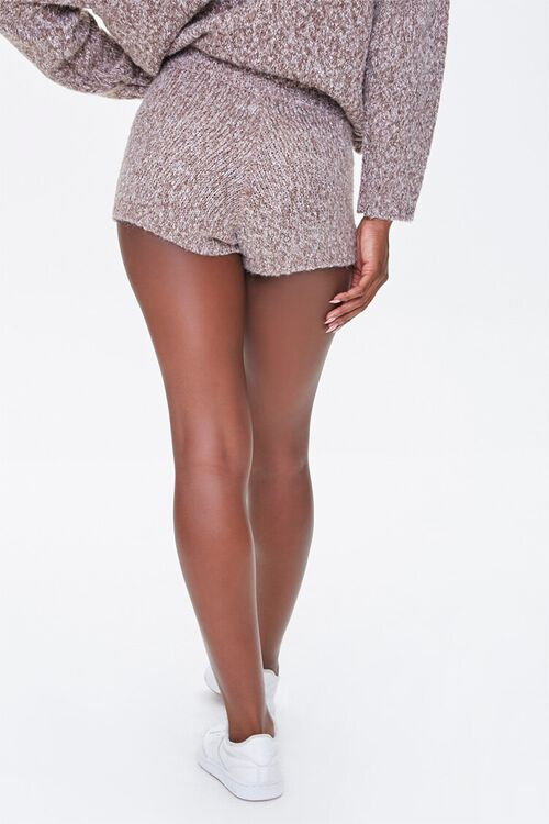 Marled Sweater-Knit Shorts, image 4