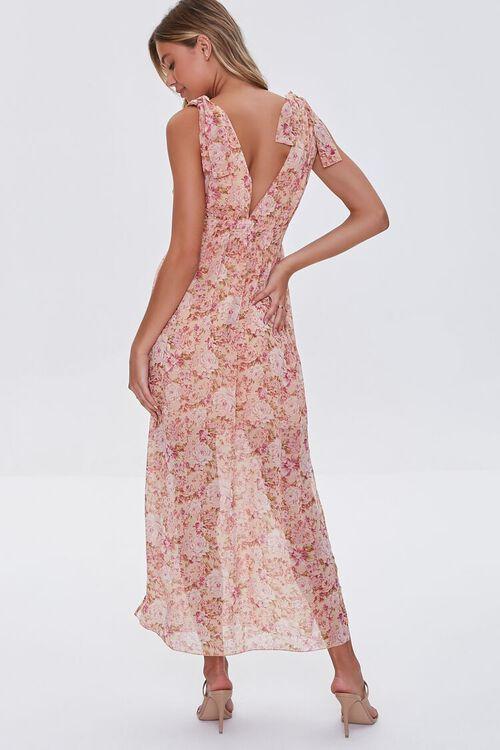 Floral Print Maxi Dress, image 3