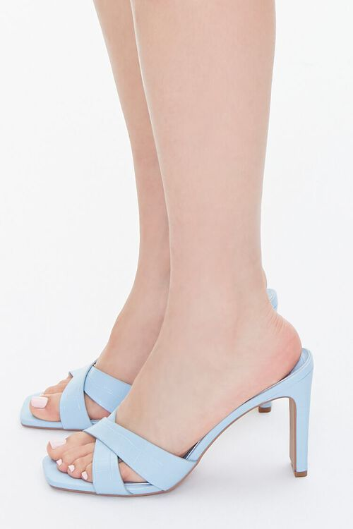 Crisscross Square-Toe Heels, image 2