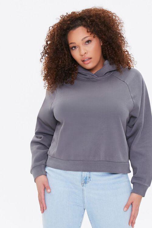 Plus Size Fleece Hoodie, image 1
