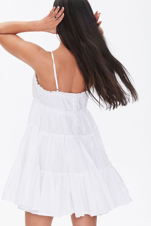 Tiered Fit & Flare Mini Dress, image 3