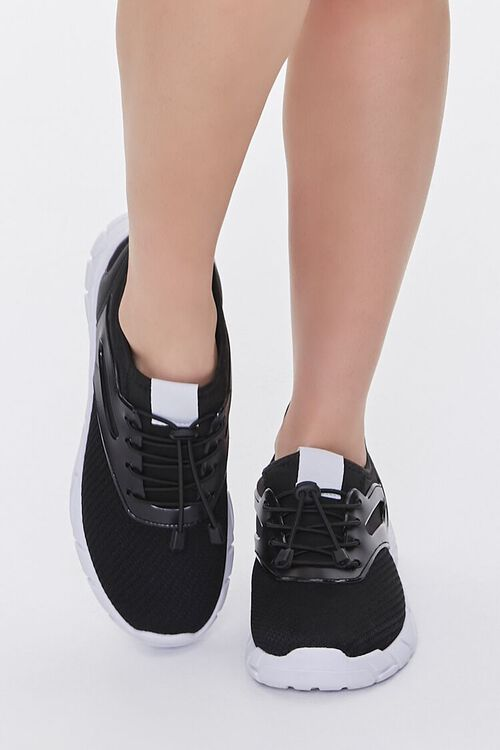 Recycled Lace-Up Low-Top Sneakers, image 4
