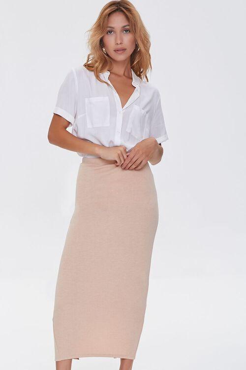 Pencil Midi Skirt, image 1
