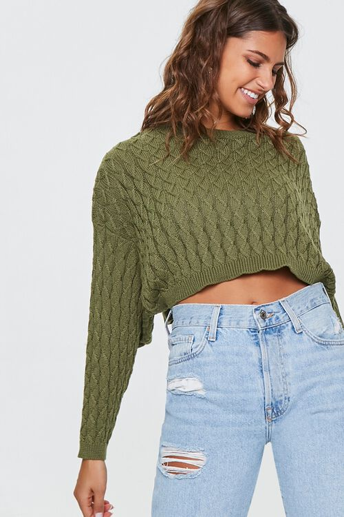 Textured Batwing-Sleeve Sweater, image 1
