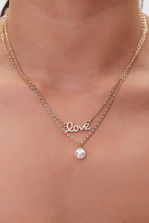 Love Pendant Necklace Set, image 1