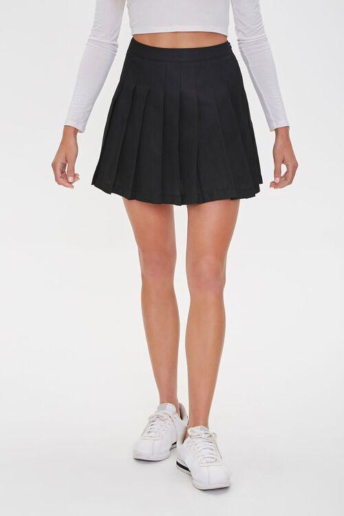 Pleated Mini Skirt, image 2