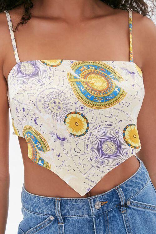 Celestial Print Tie-Back Cami, image 5