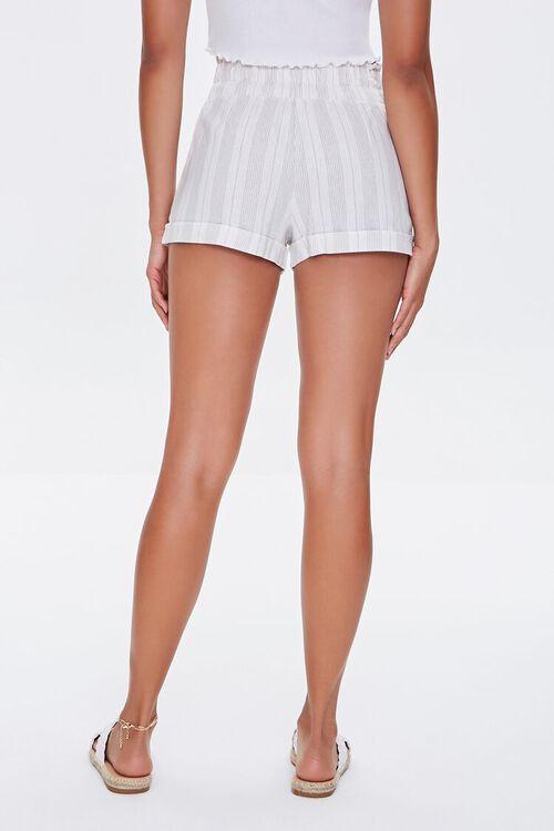 Striped Paperbag Shorts, image 4