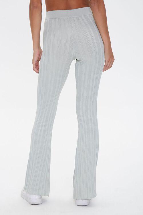 Ribbed Flare-Leg Pants, image 4