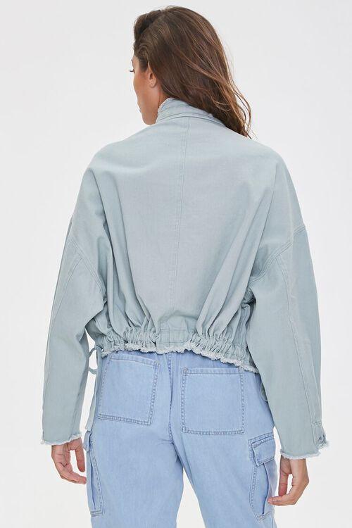 Frayed Twill Jacket, image 4