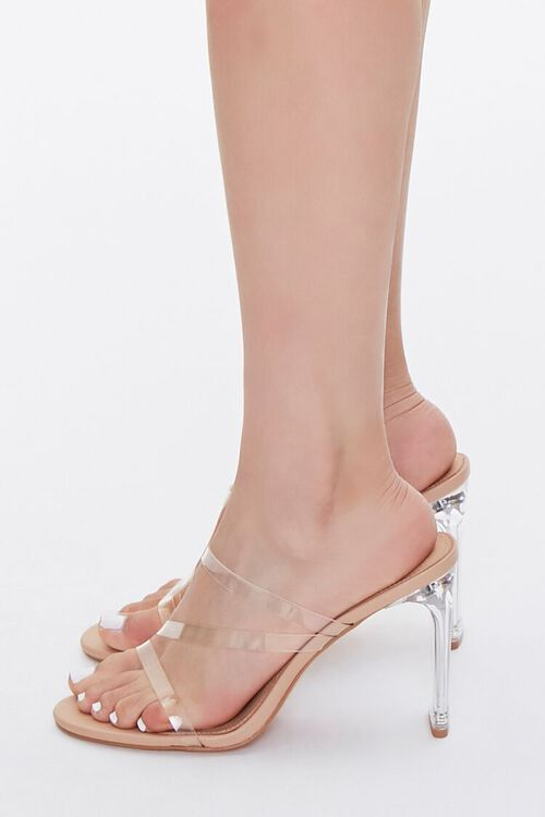 Strappy Lucite Block Heels, image 2
