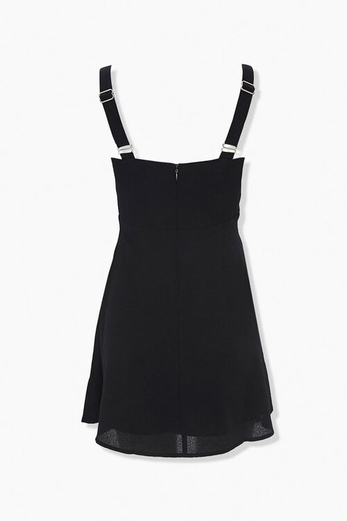 Textured Shoulder-Strap Mini Dress, image 2