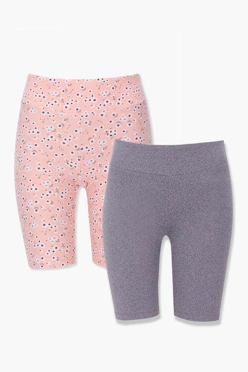 Floral Biker Shorts Set, image 1