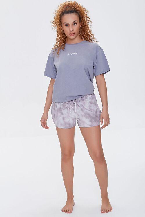 Cloud Wash Pajama Shorts, image 5