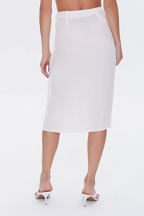 Gathered Crepe Skirt, image 3