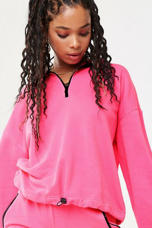 Neon French Terry Pullover, image 1