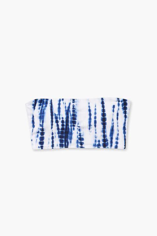 Plus Size Tie-Dye Tube Bikini Top, image 4