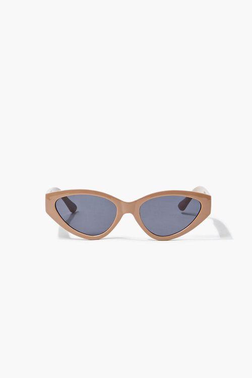 Tinted Oval Sunglasses, image 3