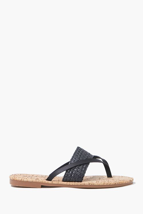 Braided Thong Sandals, image 1