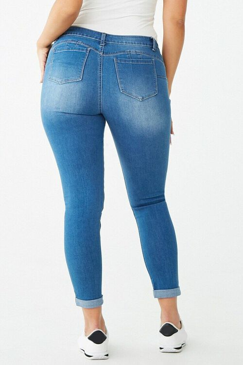 Distressed Mid-Rise Jeans, image 6