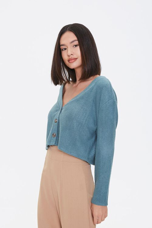 Boxy Cardigan Sweater, image 1