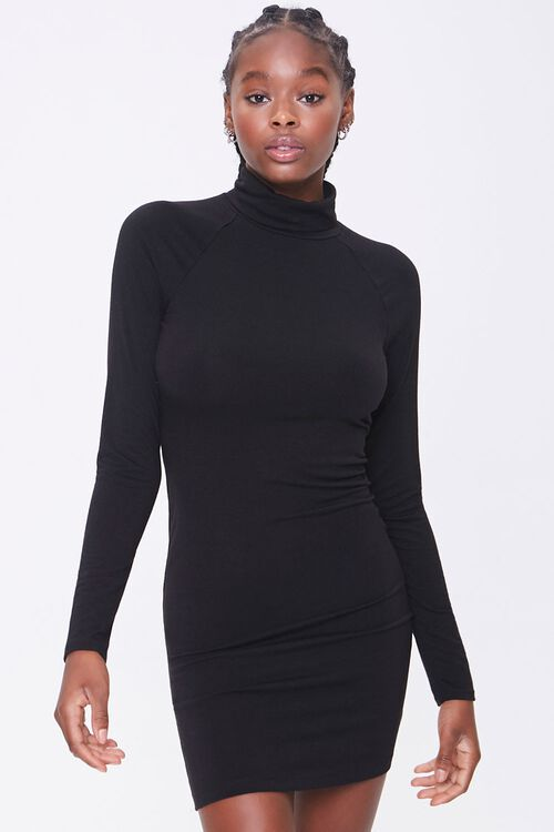 Turtleneck Mini Dress, image 1