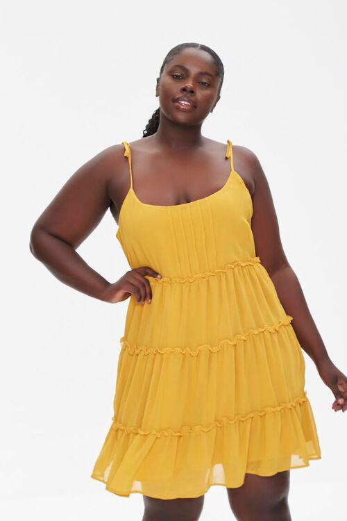 Plus Size Chiffon Cami Dress, image 1