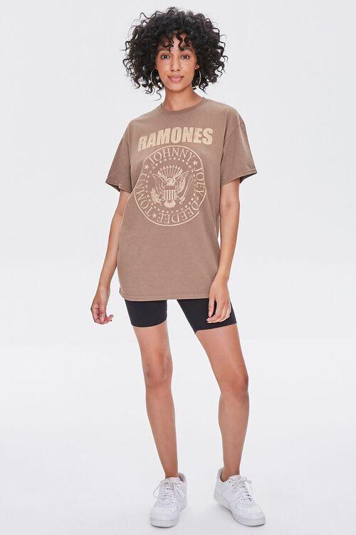 BROWN/MULTI Ramones Graphic Tee, image 4