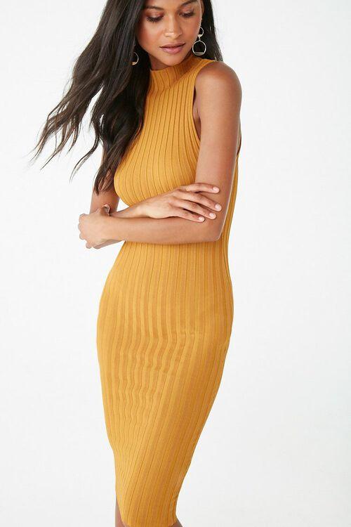 Sleeveless Mock Neck Dress, image 1